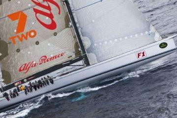 A vezető jacht Alfa Romeo