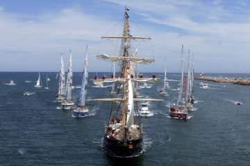 óceáni versennyel ünnepelt új év