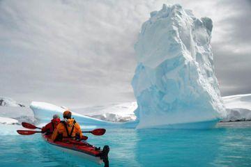 antarktiszi kajakozás
