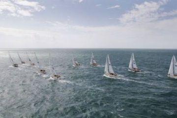 Clipper 09-10 Földkerülő verseny rajtja