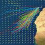 óceáni szelek előrejelzése a következő 24 órára